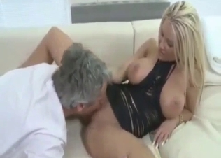 My horny stepfather has a very juicy cock