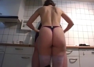 Sexy stepmom adores when her son has a boner