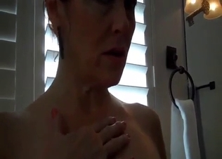 Astonishing mom rides her son in POV mode