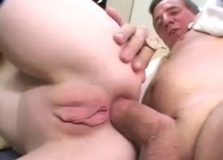 Amazing anal penetration with my young sis