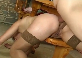 Really impressive anal fuck with my big-ass sister