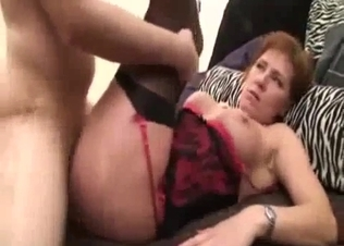 Nephew gives gets sensually sucked by a hot mom