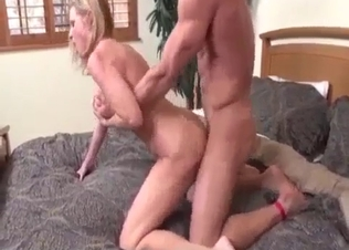 Lustful female is trying incest with a brother