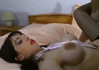 Busty stepdaughter sucks her stepdad