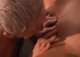 Nasty incest sex with a skinny young granddaughter