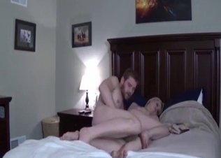 Marvellous incest bong with a wild stepsis