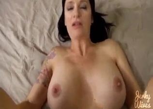 Cumming on the face of my slutty sister